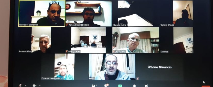 La FESJ reanudó las reuniones de Directorio