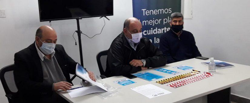 """Dino Minnozzi: """"El comercio sanjuanino debe seguir cumpliendo los protocolos COVID-19"""""""