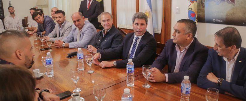 CAME se reunió con el gobernador antes de iniciar el Cruce de los Andes