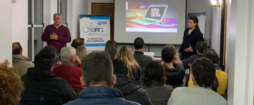 Agencia Calidad San Juan brindó información sobre créditos a emprendedores