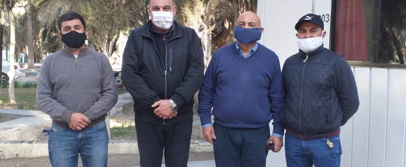 Dino Minnozzi se reunió con empresarios jachalleros