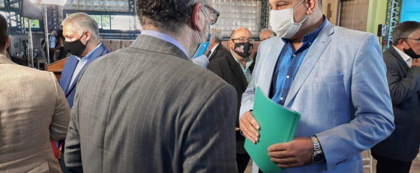 Dino Minnozzi dialogó con el Ministro Matías Kulfas