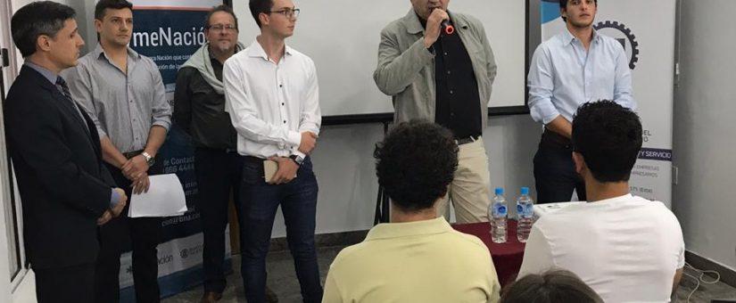Nación emprende visitó la Federación Económica de San Juan