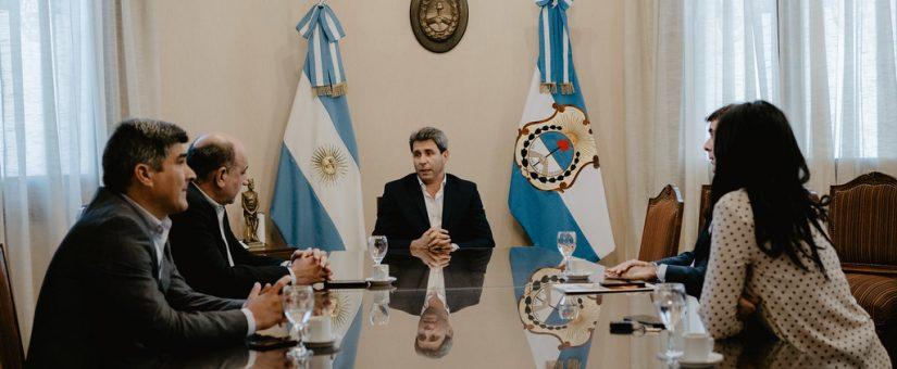 La FESJ se reunió con el gobernador Sergio Uñac