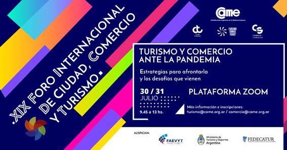 Últimos días para inscribirse al XIX Foro Internacional de Ciudad, Comercio y Turismo