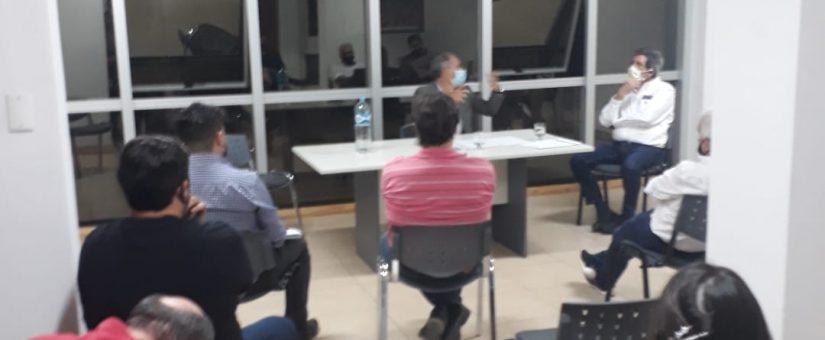 Acuerdo San Juan: el Interventor del IPV dialogó con la Cámara de la Construcción e Inmobiliaria de San Juan