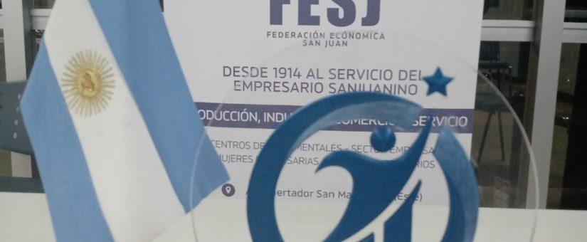 JEFES hizo entrega de las distinciones a los ganadores del Premio Joven Empresario Sanjuanino 2021