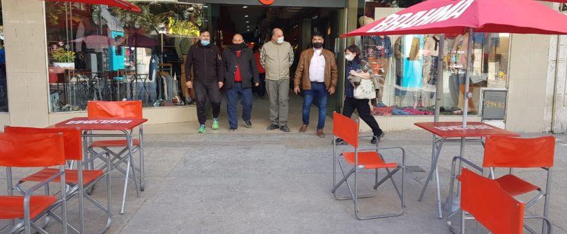 Día del Niño: la FESJ acompañó a los comerciantes