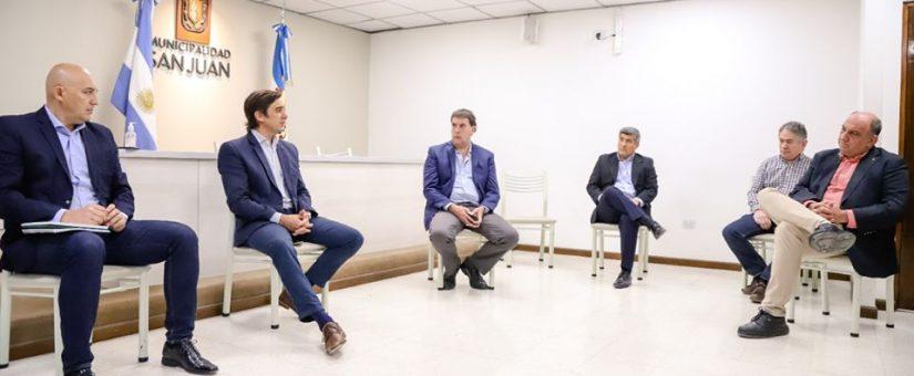 La FESJ se reunió con el intendente de Capital