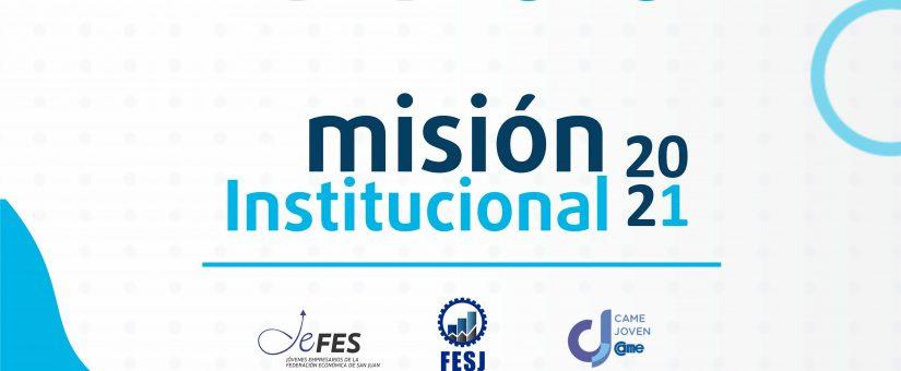 Trascendente misión institucional