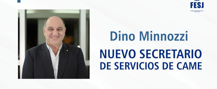 DINO MINNOZZI, NUEVO SECRETARIO DE SERVICIOS DE CAME