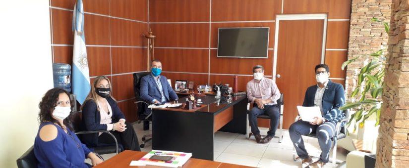 Sector inmobiliario se reunió con Fabián Martín para implementar nuevas medidas