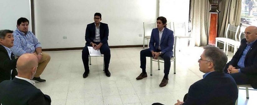 El sector inmobilliario se reunió con el intendente de Capital